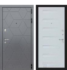 Дверь Лабиринт COSMO 14 - Дуб кантри белый горизонтальный