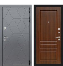 Дверь Лабиринт COSMO 03 - Орех бренди