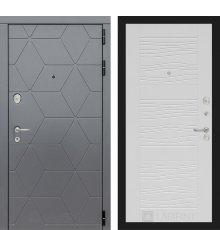 Дверь Лабиринт  COSMO 06 - Белое дерево