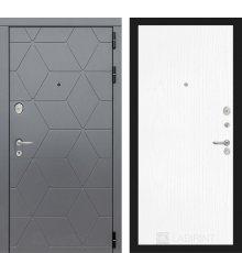 Дверь Лабиринт  COSMO 07 - Белое дерево