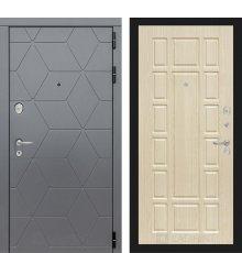 Дверь Лабиринт  COSMO 12 - Беленый дуб