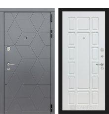 Дверь Лабиринт  COSMO 12 - Белое дерево