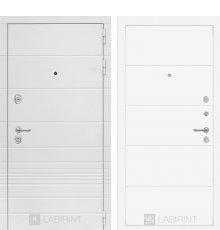 Дверь Лабиринт Трендо 13 - Белый софт