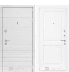 Дверь Лабиринт Трендо 11 - Белый софт