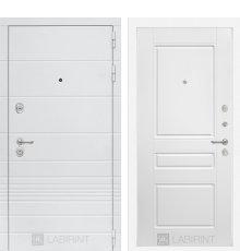 Дверь Лабиринт Трендо 03 - Белый софт