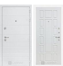 Дверь Лабиринт Трендо 12 - Белое дерево