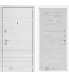 Дверь Лабиринт Трендо 06 - Белое дерево