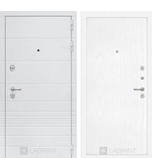 Дверь Лабиринт Трендо 07 - Белое дерево