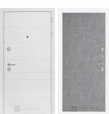 Дверь Лабиринт Трендо 21 - Бетон светлый