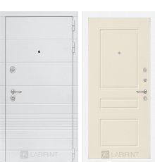 Дверь Лабиринт Трендо 03 - Крем софт