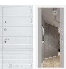 Дверь Трендо с Зеркалом Максимум - Грей софт