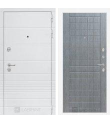 Дверь Лабиринт Трендо 09 - Лен сильвер грей