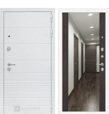 Дверь Лабиринт Трендо с Зеркалом Максимум - Венге