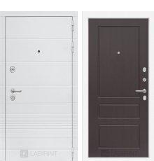 Дверь Лабиринт Трендо 03 - Орех премиум