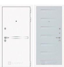 Дверь Лабиринт Лайн WHITE 14 - Дуб кантри белый горизонтальный