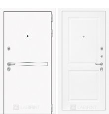 Дверь Лабиринт Лайн WHITE 11 - Белый софт