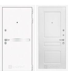 Дверь Лабиринт  Лайн WHITE 03 - Белый софт