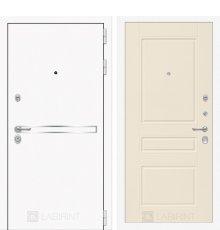 Дверь Лабиринт Лайн WHITE 03 - Крем софт