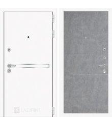 Дверь Лабиринт  Лайн WHITE 21 - Бетон светлый