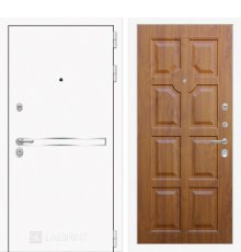 Дверь Лабиринт Лайн WHITE 17 - Золотой дуб