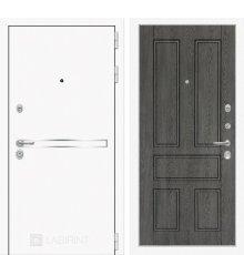 Дверь Лабиринт Лайн WHITE 10 - Дуб филадельфия графит