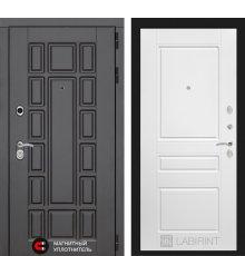 Дверь Лабиринт Нью-Йорк 03 - Белый софт