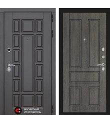 Дверь Лабиринт Нью-Йорк 10 - Дуб филадельфия графит