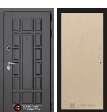 Дверь Лабиринт Нью-Йорк 05 - Венге светлый