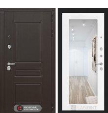 Дверь Лабиринт  Мегаполис с Зеркалом 18 - Белое дерево