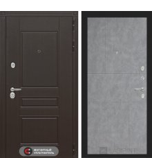 Дверь Лабиринт Мегаполис 21 - Бетон светлый