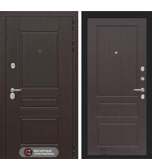 Дверь Лабиринт Мегаполис 03 - Орех премиум