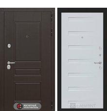 Дверь Лабиринт Мегаполис 14 - Дуб кантри белый горизонтальный