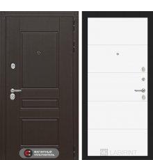 Дверь Лабиринт Мегаполис 13 - Белый софт