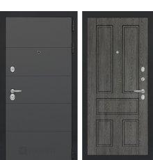 Дверь Лабиринт ART графит 10 - Дуб филадельфия графит