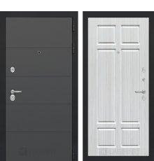 Дверь Лабиринт ART графит 08 - Кристалл вуд