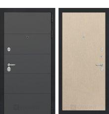 Дверь Лабиринт  ART графит 05 - Венге светлый