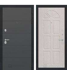 Дверь Лабиринт ART графит 15 - Алмон 15