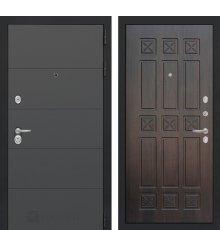 Дверь Лабиринт ART графит 16 - Алмон 28