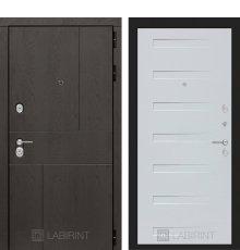 Дверь Лабиринт URBAN 14 - Дуб кантри белый горизонтальный
