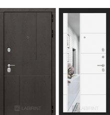 Дверь Лабиринт URBAN с Зеркалом 19 - Белый софт