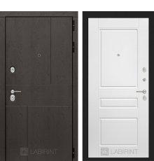 Дверь Лабиринт URBAN 03 - Белый софт