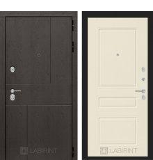 Дверь Лабиринт URBAN 03 - Крем софт