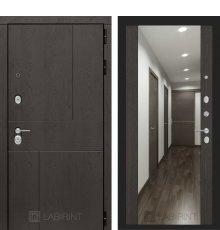 Дверь Лабиринт URBAN с Зеркалом Максимум - Венге