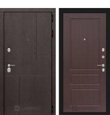 Дверь Лабиринт  URBAN 03 - Орех премиум