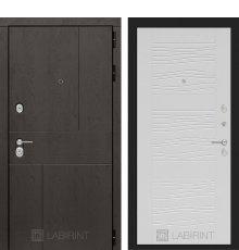 Дверь Лабиринт URBAN 06 - Белое дерево
