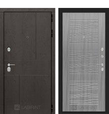 Дверь Лабиринт URBAN 06 - Сандал серый