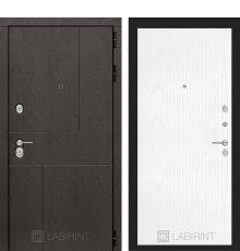 Дверь Лабиринт URBAN 07 - Белое дерево
