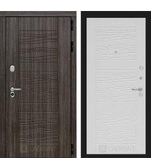 Дверь Лабиринт SCANDI Дарк грей 06 - Белое дерево