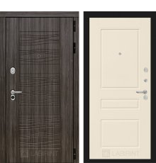 Дверь Лабиринт Сканди 03 - Крем софт