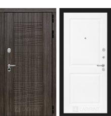 Дверь Лабиринт Сканди 11 - Белый софт